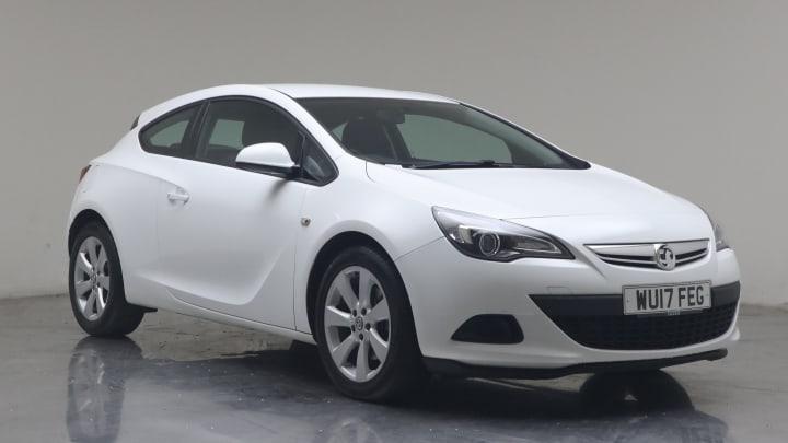 2017 used Vauxhall Astra GTC 1.4L Sport T 16V