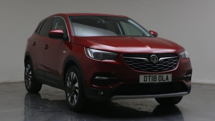 2018 used Vauxhall Grandland X 1.2L Sport Nav Turbo
