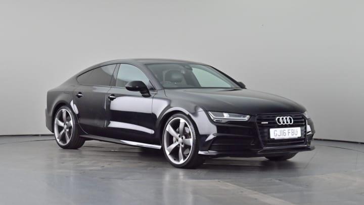 2016 used Audi A7 3L Black Edition TDI V6