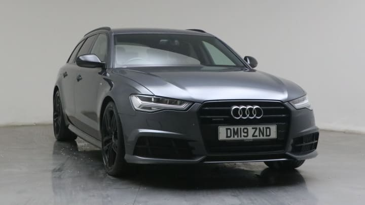 2019 used Audi A6 Avant 3L Black Edition TDI V6
