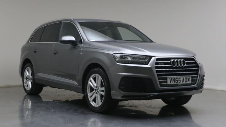 2015 used Audi Q7 3L S line TDI V6