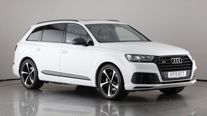 2019 used Audi Q7 3L Black Edition TDI V6