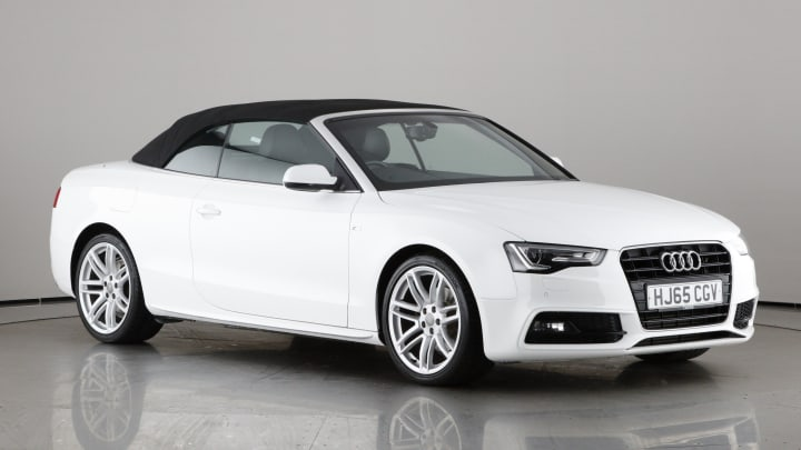 2015 used Audi A5 Cabriolet 2L S line TDI