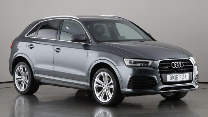 2016 used Audi Q3 2L S line Plus TDI
