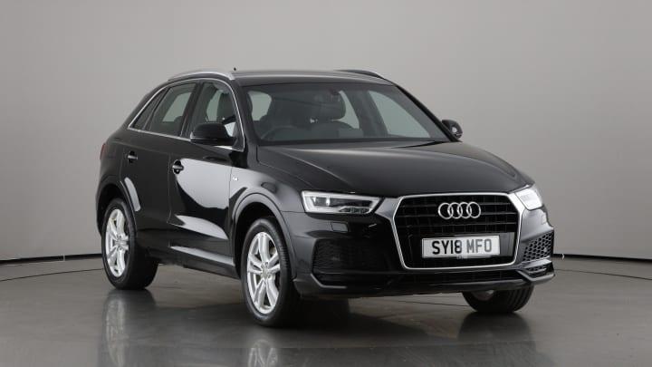 2018 used Audi Q3 1.4L S line Edition CoD TFSI