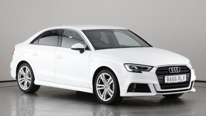 2017 used Audi A3 1.4L S line CoD TFSI