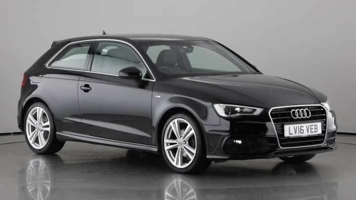 2016 used Audi A3 1.4L S line TFSI