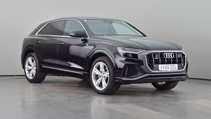 2018 used Audi Q8 3L S line TDI V6