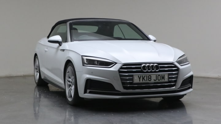 2018 used Audi A5 Cabriolet 2L S line TDI