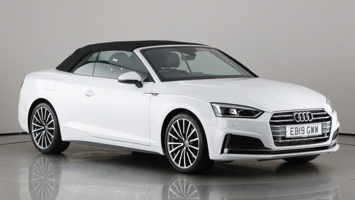 2019 used Audi A5 Cabriolet 2L S line TFSI