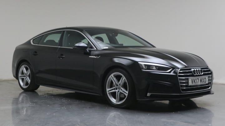 2017 used Audi A5 2L S line ultra TDI