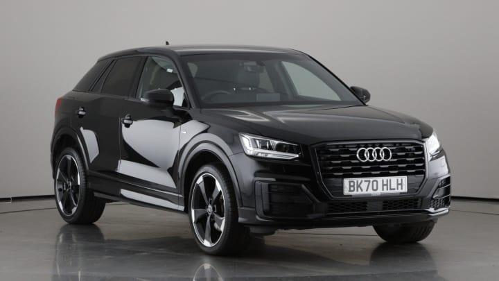 2020 used Audi Q2 1.5L Black Edition TFSI CoD