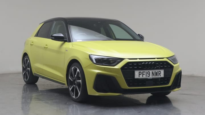 2019 used Audi A1 1.5L S line Contrast Edition TFSI