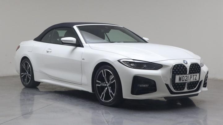 2021 used BMW 4 Series 2L M Sport 420i