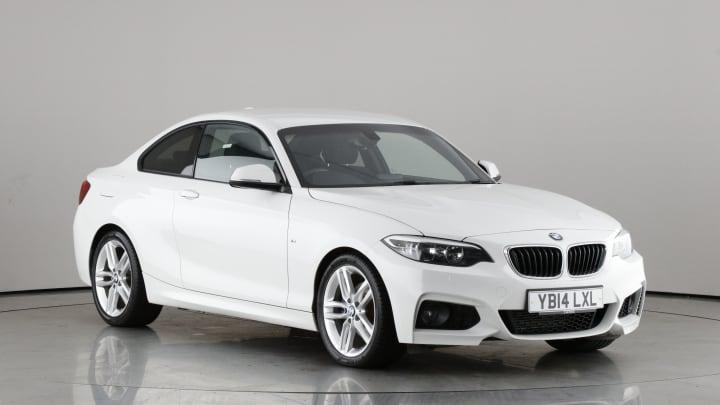 2014 used BMW 2 Series 2L M Sport 220d