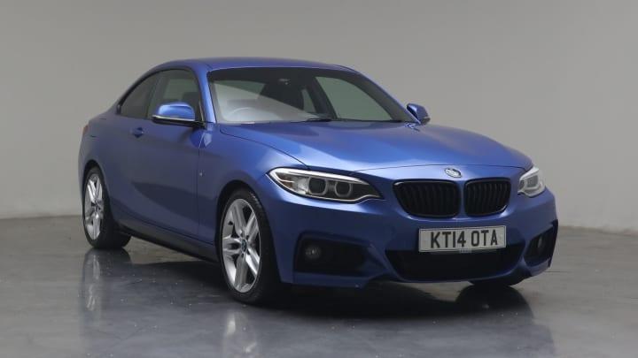 2014 used BMW 2 Series 2L M Sport 220i