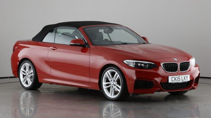 2015 used BMW 2 Series 1.5L M Sport 218i