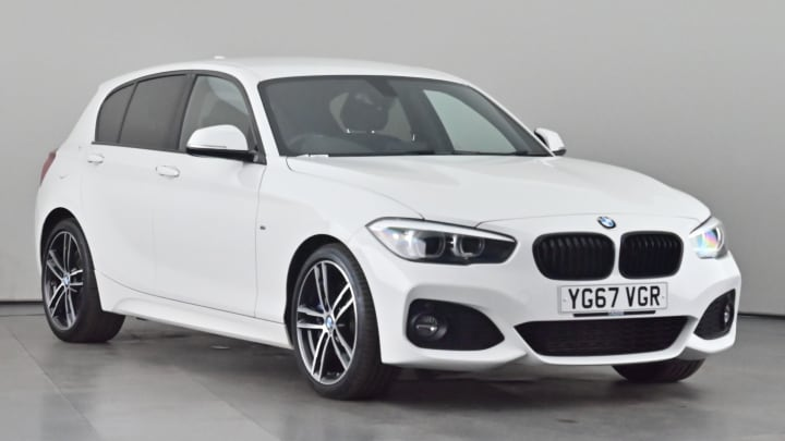 2017 used BMW 1 Series 2L M Sport Shadow Edition 118d