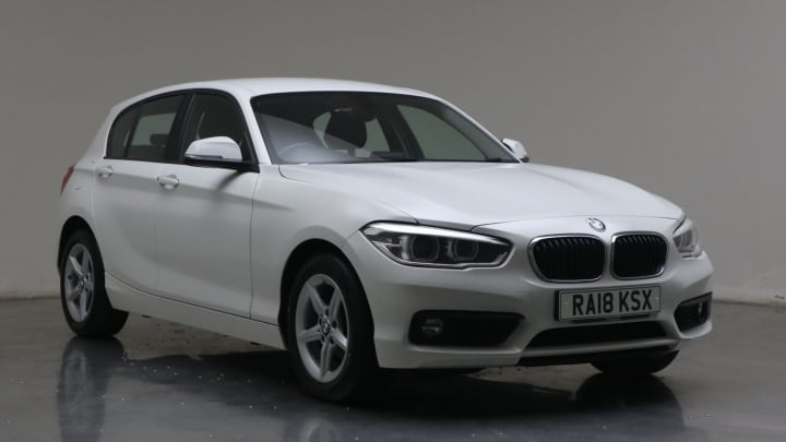 2018 used BMW 1 Series 1.5L SE Business 116d