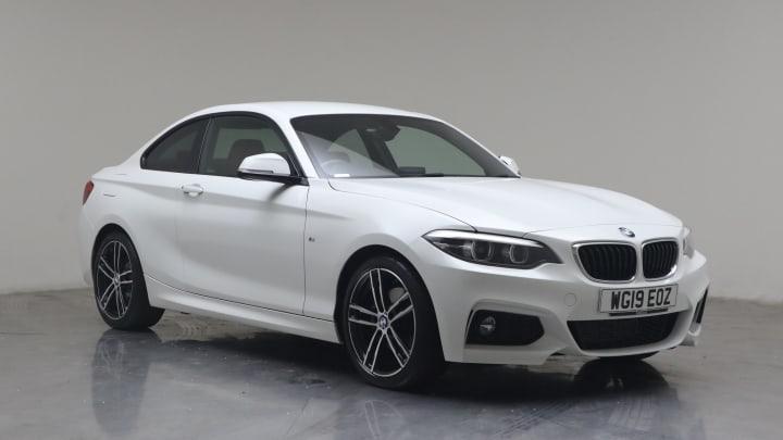 2019 used BMW 2 Series 2L M Sport 220d