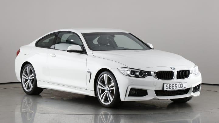 2015 used BMW 4 Series 2L M Sport 420i
