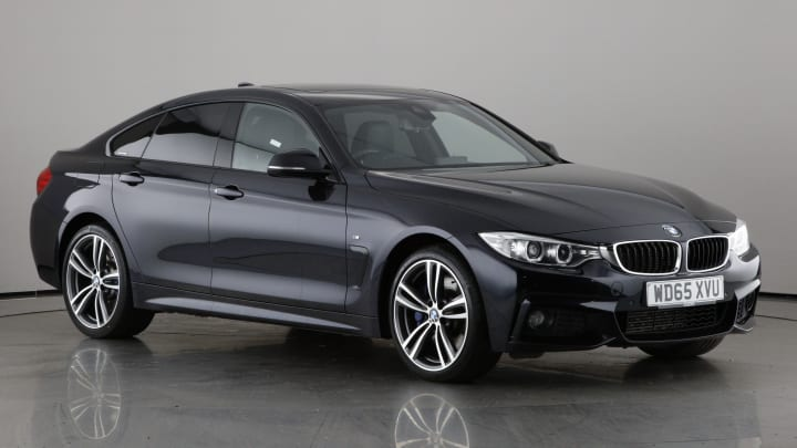 2015 used BMW 4 Series Gran Coupe 3L M Sport 430d