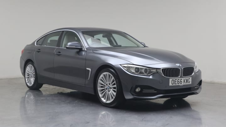 2017 used BMW 4 Series Gran Coupe 2L Luxury 420d