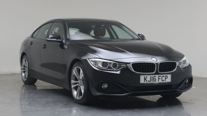 2016 used BMW 4 Series Gran Coupe 2L Sport 420d