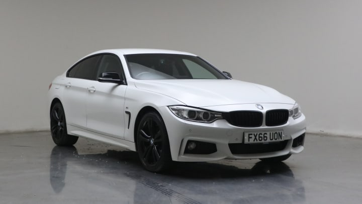 2016 used BMW 4 Series Gran Coupe 2L M Sport 420d