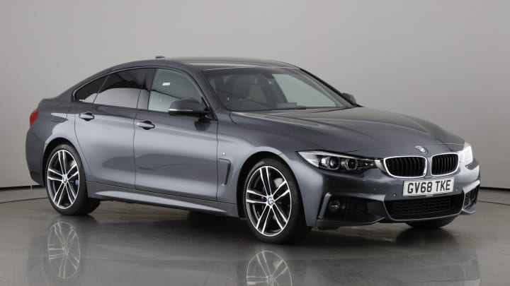 2018 used BMW 4 Series Gran Coupe 2L M Sport 420i