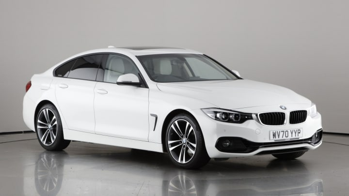 2020 used BMW 4 Series Gran Coupe 2L Sport 420i