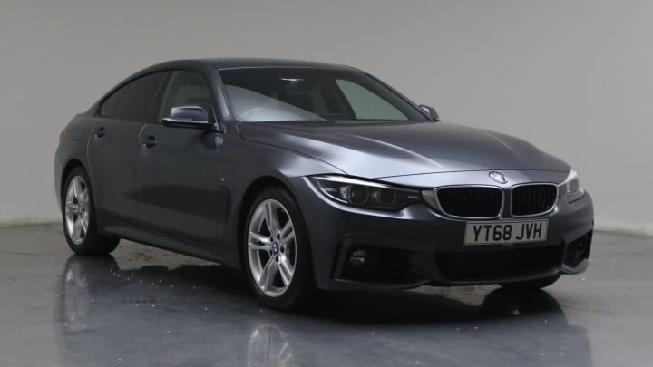 2018 used BMW 4 Series Gran Coupe 2L M Sport 420d