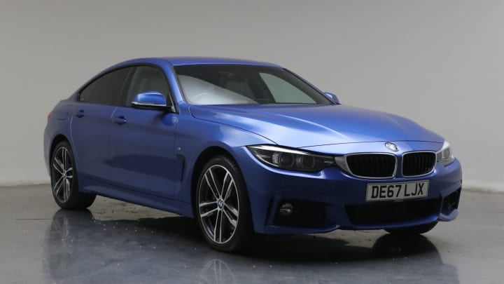 2017 used BMW 4 Series Gran Coupe 3L M Sport 430d