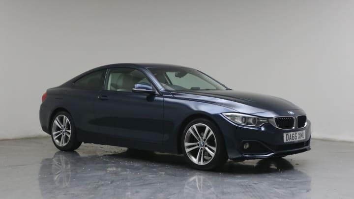 2016 used BMW 4 Series 2L Sport 420d