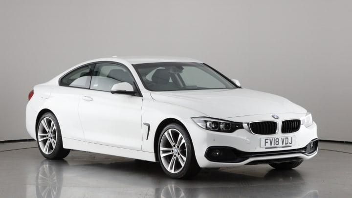 2018 used BMW 4 Series 2L Sport 420i