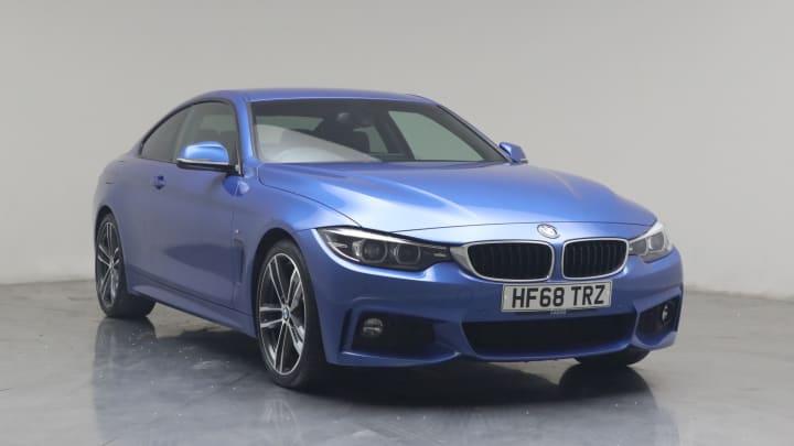 2018 used BMW 4 Series 2L M Sport 420i