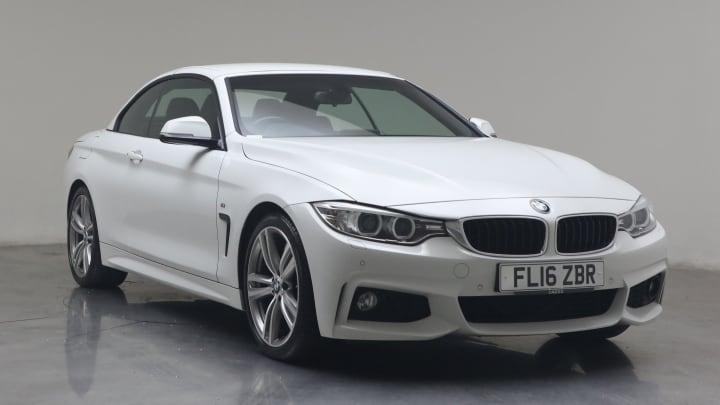 2016 used BMW 4 Series 2L M Sport 420i