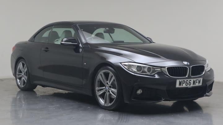 2016 used BMW 4 Series 2L M Sport 420d