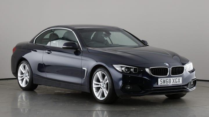 2019 used BMW 4 Series 2L Sport 420i