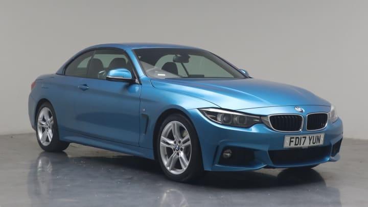 2017 used BMW 4 Series 2L M Sport 430i