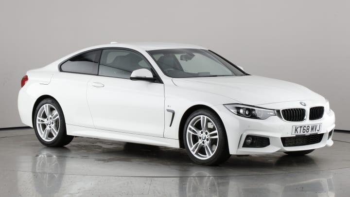2018 used BMW 4 Series 3L M Sport 430d