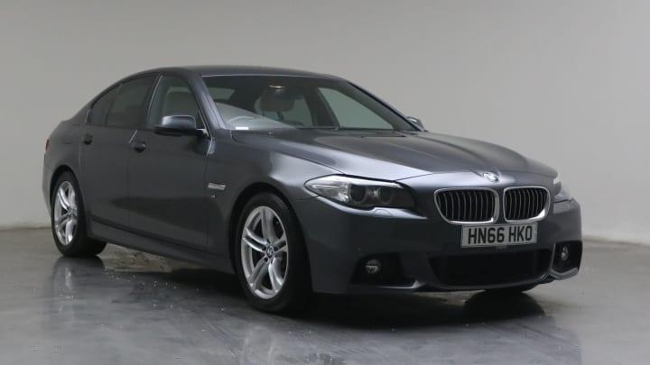 2016 used BMW 5 Series 2L M Sport 520d