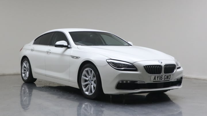 2016 used BMW 6 Series Gran Coupe 3L SE 640d