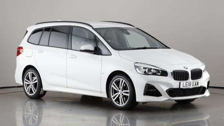 2018 used BMW 2 Series Gran Tourer 1.5L M Sport 218i