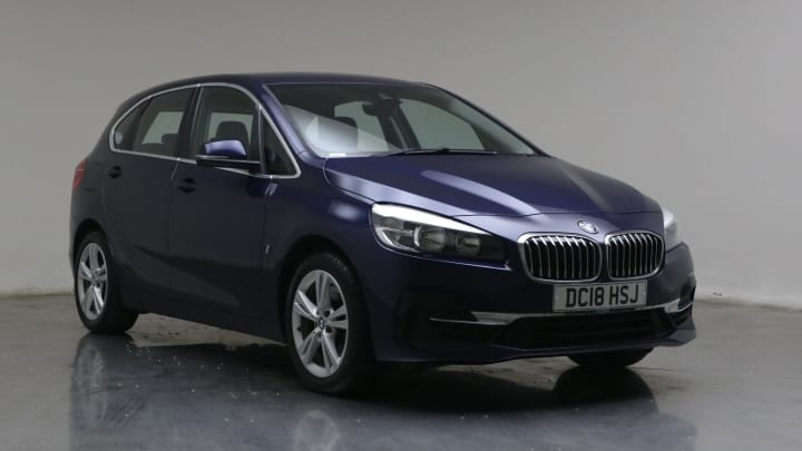 2018 used BMW 2 Series Active Tourer 1.5L Luxury 225xe