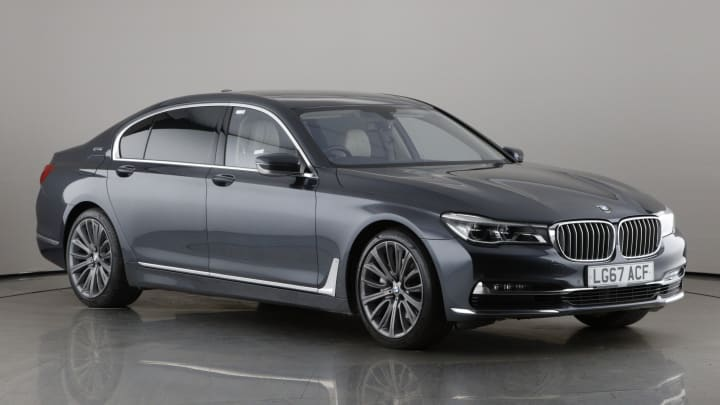 2017 used BMW 7 Series 2L Exclusive 740Le