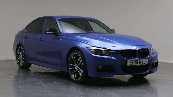 2018 used BMW 3 Series 2L M Sport Shadow Edition 330i
