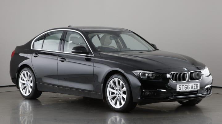 2016 used BMW 3 Series 2L Luxury BluePerformance 320d