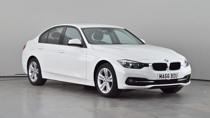 2016 used BMW 3 Series 2L Sport 316d