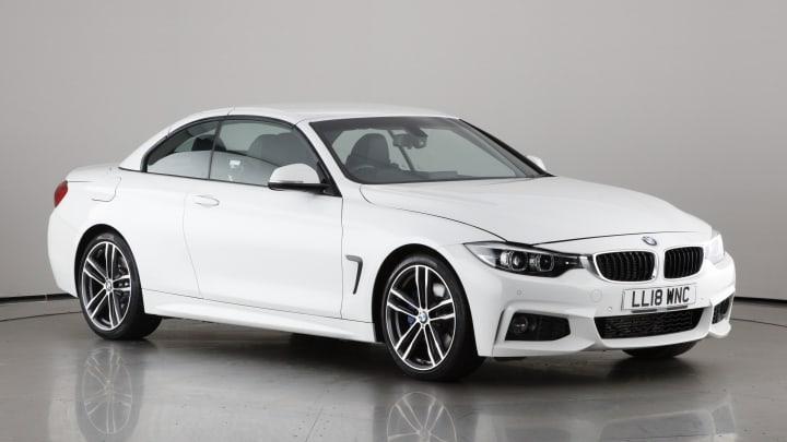 2018 used BMW 4 Series 2L M Sport 420d